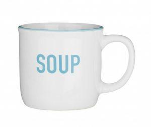 Šalica za juhu White 420 ml