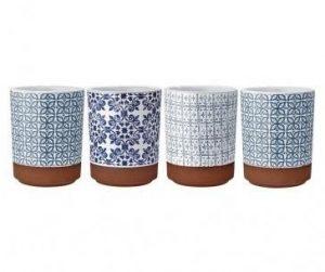 Set 4 čaša Tapas Blue 250 ml