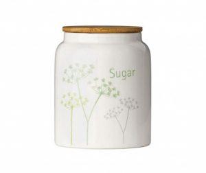 Posuda za šećer s poklopcem Cow Parsley