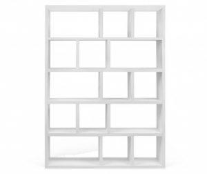 Regal za knjige Berlin Five Large White
