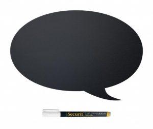 Set ploča za pisanje i marker s tekućom kredom Bubble Speech