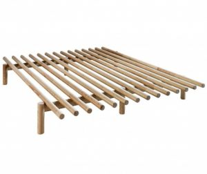 Okvir za krevet Pace Natural Pine 160x200 cm
