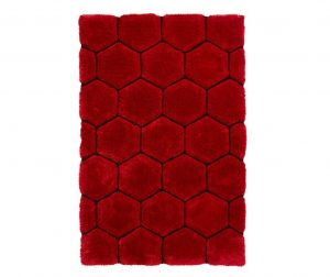 Tepih Noblese House Red Black 120x170 cm