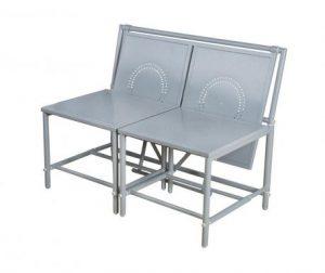 Konvertibilna klupica za vanjski prostor Bistro Grey