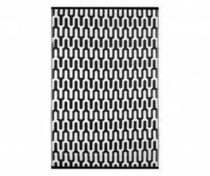 Tepih za vanjski prostor Jubilee Black&White 120x180 cm