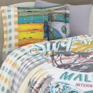 Posteljina Single Poplin Malibu Beach