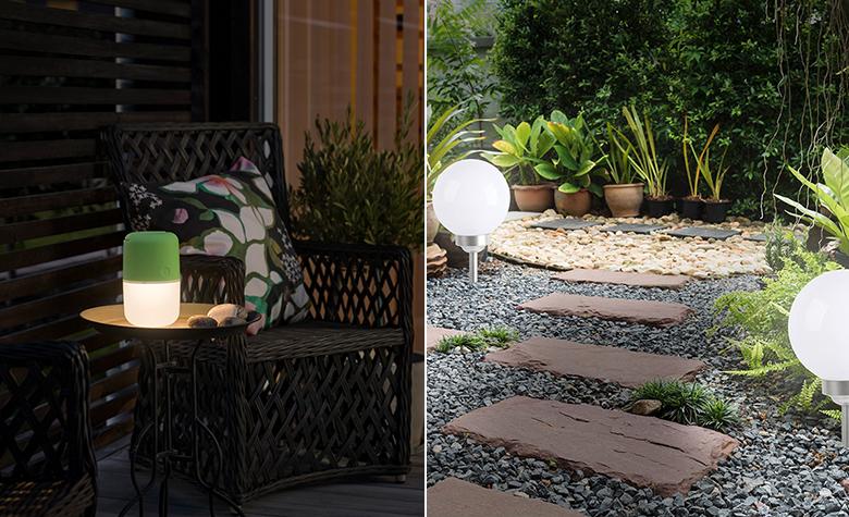 Vanjsko osvjetljenje - uređenje terase iz snova
