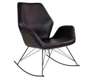 Stolica za ljuljanje Nybro Black