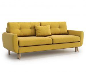 Kauč na razvlačenje Harris Yellow