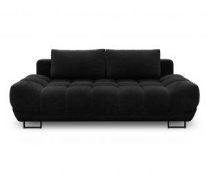 Kauč trosjed na razvlačenje Cumulus Black