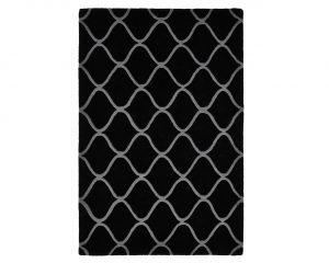 Tepih Elements Black 120x170 cm