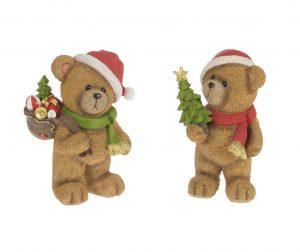 Set 2 ukrasa Santa's Bears