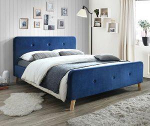 Krevet Goteborg Blue 160x200 cm