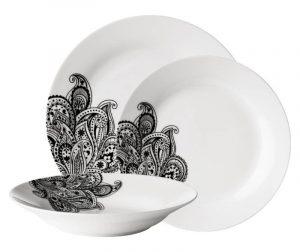 12-dijelni servis za jelo Paisley Leaves