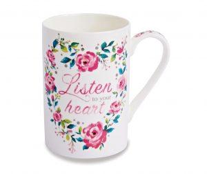 Šalica Listen To Your Heart 130 ml