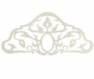 Uzglavlje kreveta Baroque White 165 cm