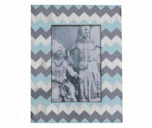 Okvir za slike Blue Zig Zag
