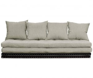 Kauč na razvlačenje Chico Linen Half 70x200 cm