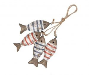 Viseći ukras Striped Fishes