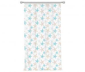Zastor Sea Stars 140x270 cm