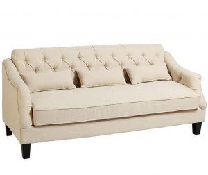 Kauč trosjed Glamour Creme