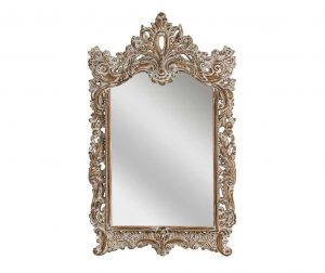 Zrcalo Dusty White