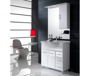 3-dijelni set namještaja za kupaonicu Glossy