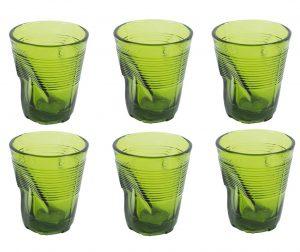 Set 6 čaša Drink Green 225 ml