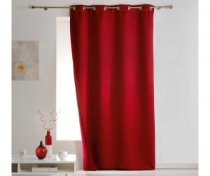 Zastor Covery Red 140x260 cm