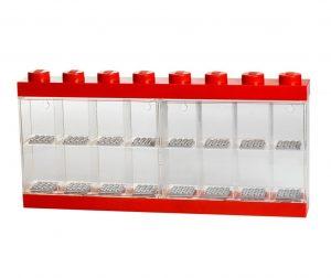 Kutija za 16 mini figurica Lego Red
