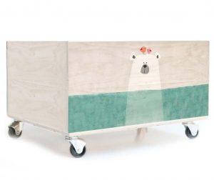 Kutija za igračke Polar Bear