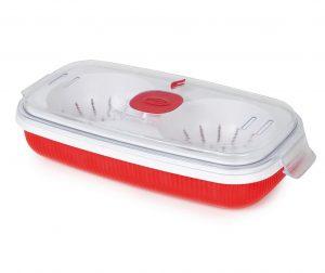 Posuda za kuhanje jaja Airtight Red 750 ml