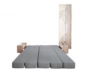 Kauč na razvlačenje Umu Light Grey