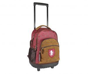 Školska torba sa kotačićima Harry Potter Brown