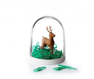 Set 40 spajalica i držač Deer in the Forest