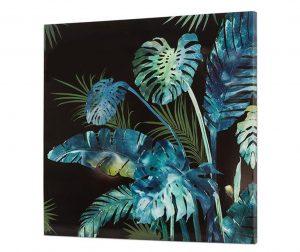 Slika Tropical Leaves 80x80 cm